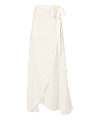 Ballerina Wrap Skirt, WHITE, hi-res