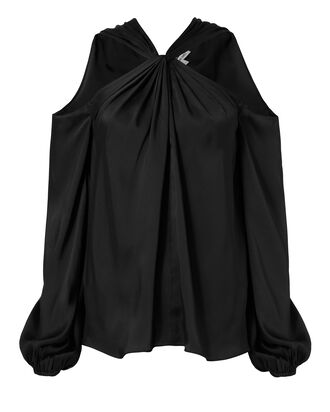 Minnie Twist Front Top, BLACK, hi-res