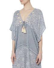 Positano V-Neck Tunic, PATTERN, hi-res