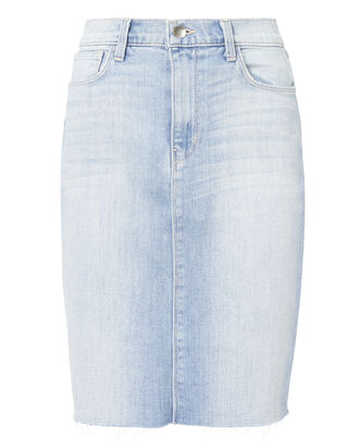 Montecito High-Rise Denim Skirt, DENIM, hi-res