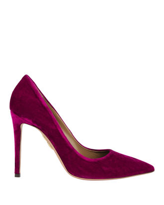 Simply Irresistible Velvet Pumps, PINK, hi-res