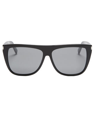 Flat Top Black Sunglasses, , hi-res