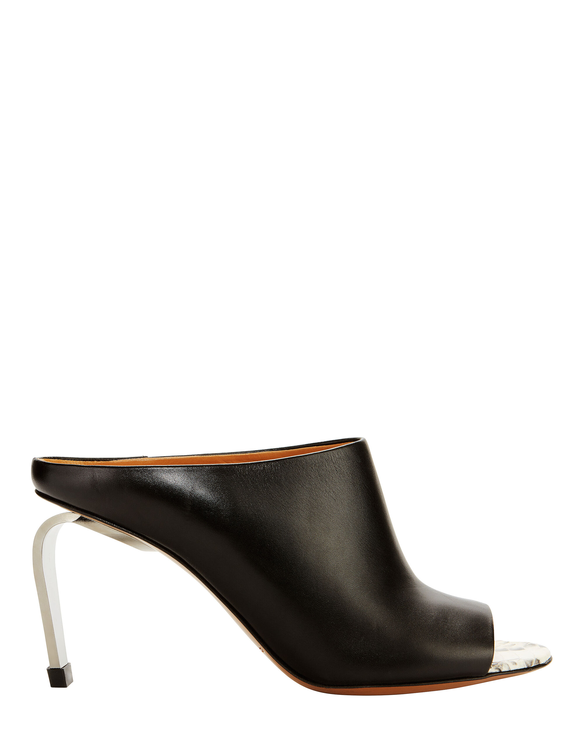 Maevaw Leather Mules