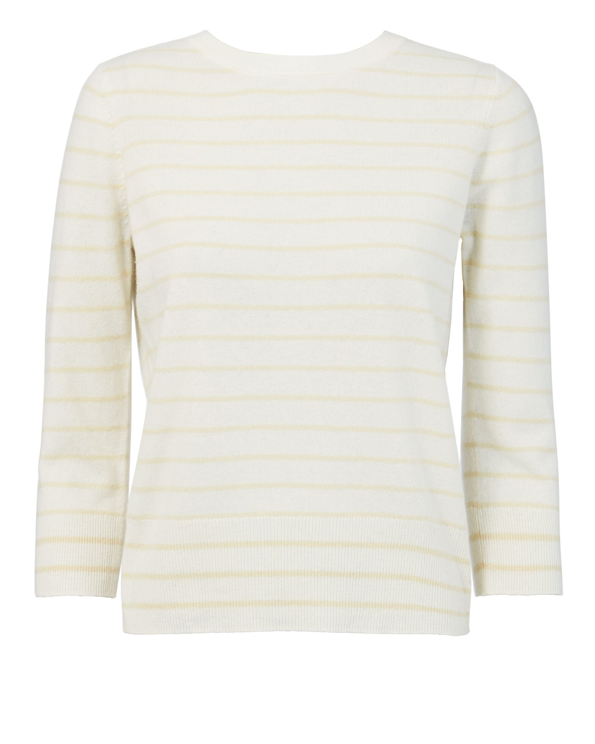 Tie Back Striped Sweater, IVORY, hi-res
