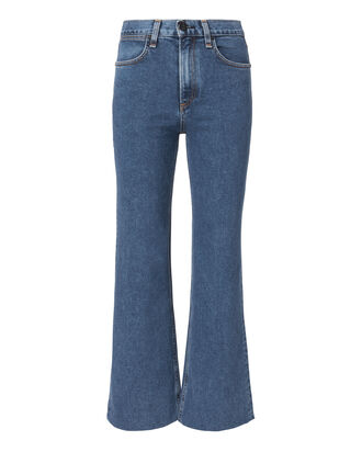 Justine Wide Leg Trousers, DENIM, hi-res