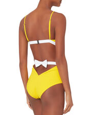 Rosella High Waist Bikini Bottom, YELLOW, hi-res