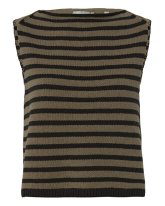 Striped Sweater Tank, PATTERN, hi-res