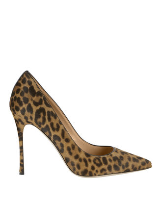 Godiva Haircalf Leopard Pumps, , hi-res
