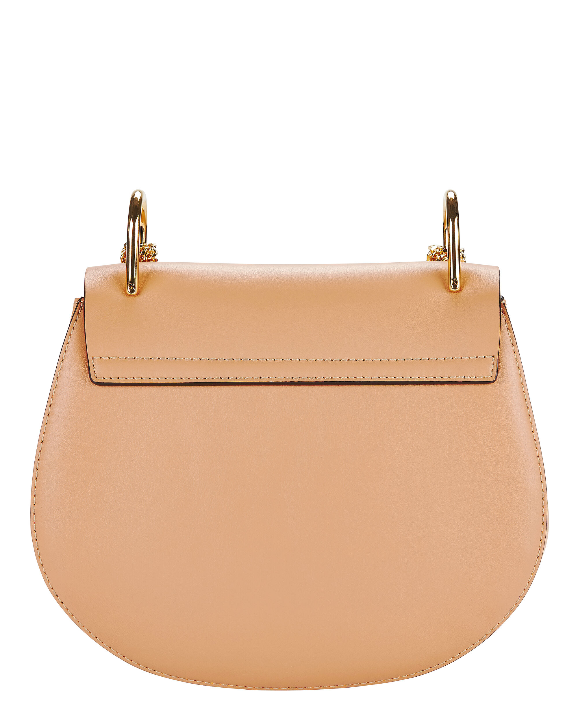 Drew Suede And Leather Shoulder Bag, BEIGE/KHAKI, hi-res