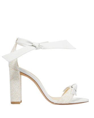 Clarita Fabric Sandals, WHITE, hi-res