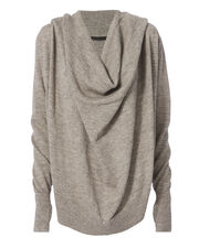 Marco Granite Hoodie Sweater, GREY, hi-res