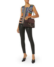 Multicolor Striped Lurex Top, MULTI, hi-res