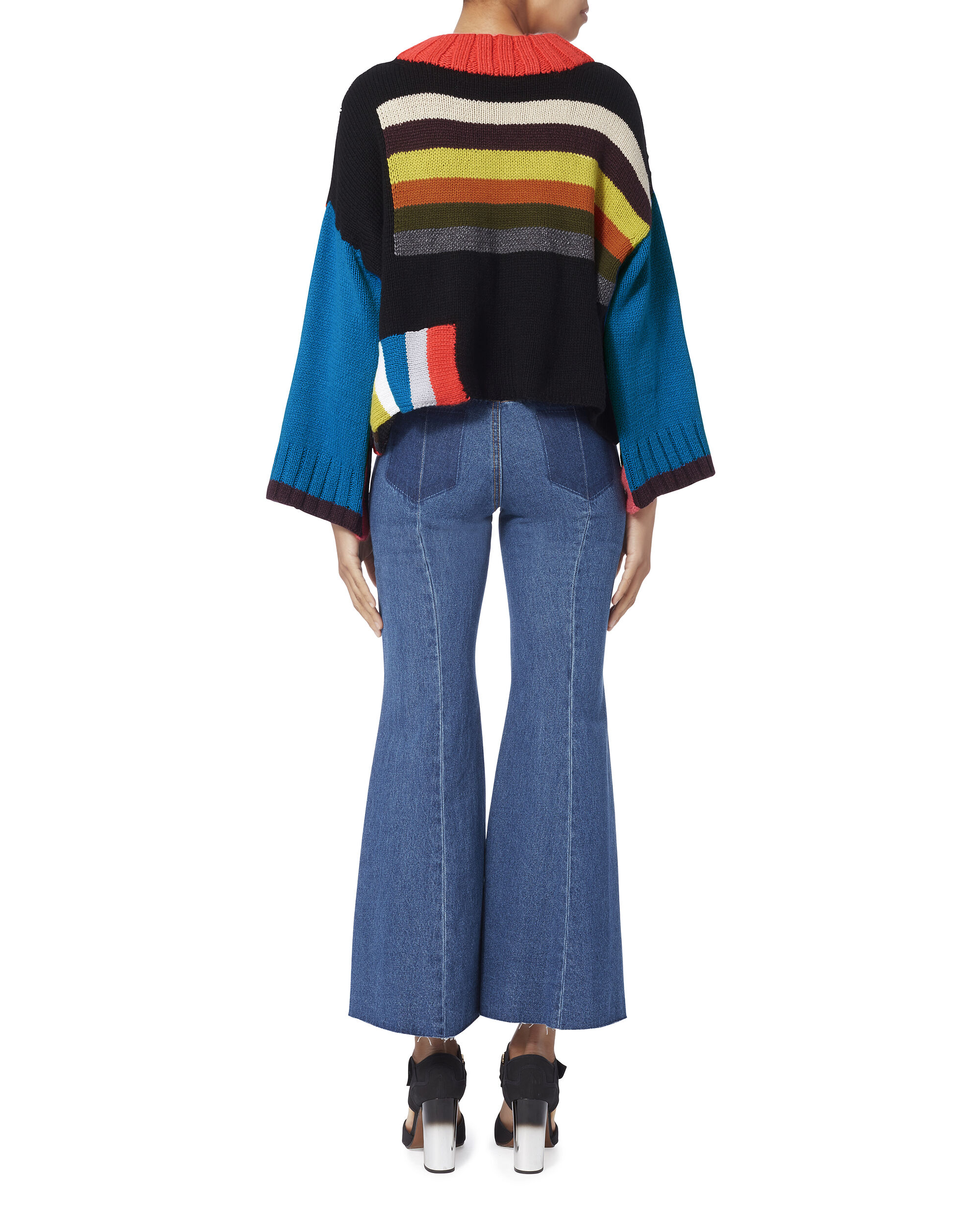 Rio Grande Striped Sweater, MULTI, hi-res