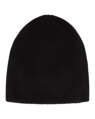 Ace Black Cashmere Beanie, BLACK, hi-res