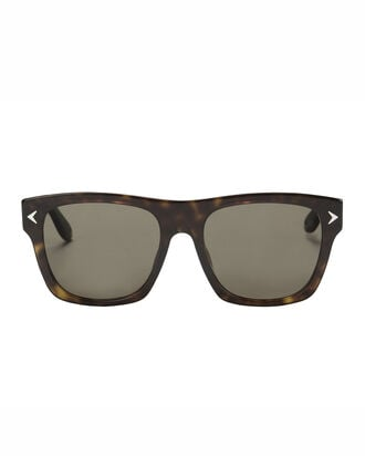 Dark Havana Wayfarer Sunglasses, BROWN, hi-res