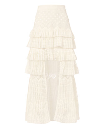Maples Freedom Maxi Skirt, IVORY, hi-res