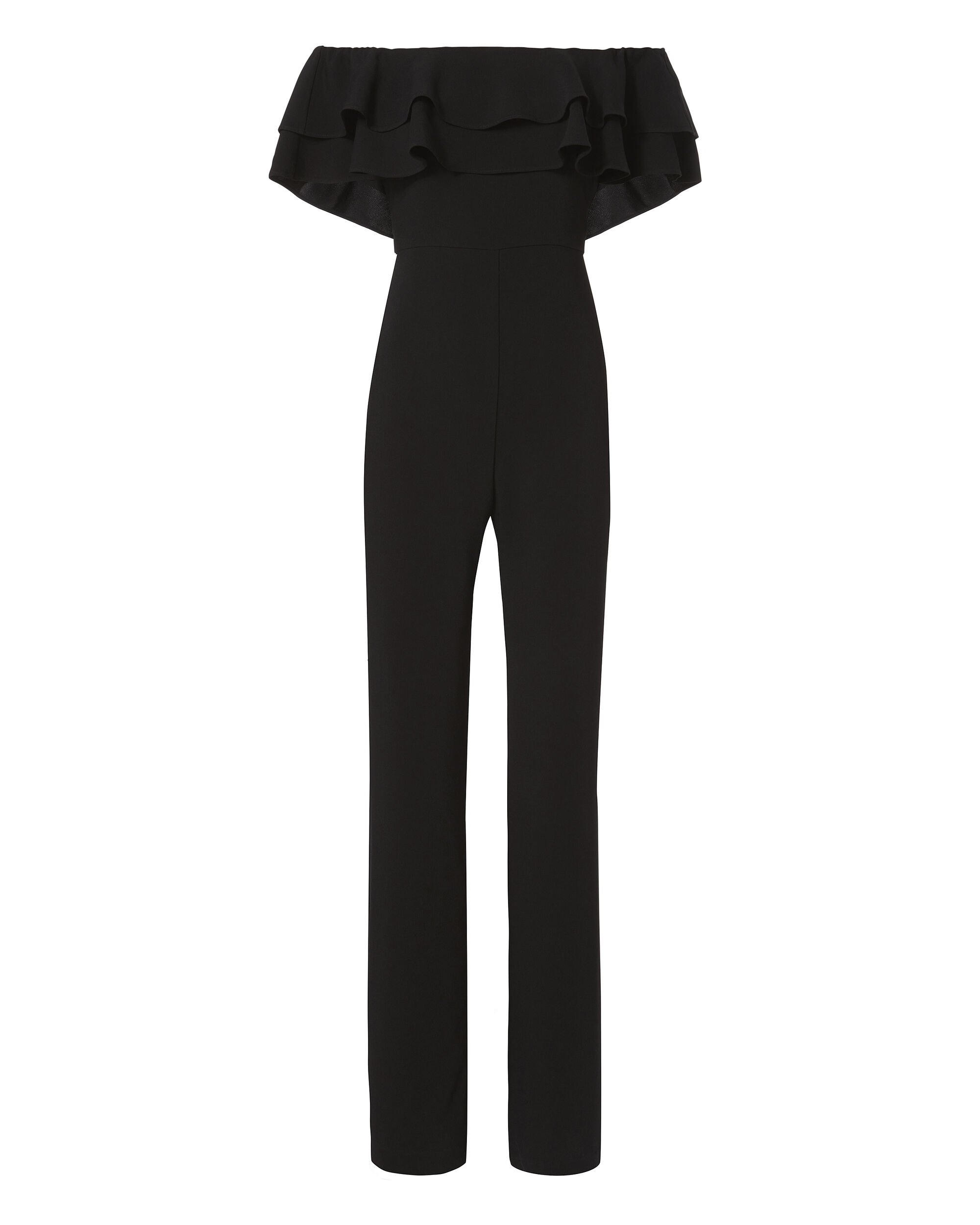 Mae Off Shoulder Jumpsuit, BLACK, hi-res