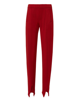 Murray Red Track Pants, RED-DRK, hi-res