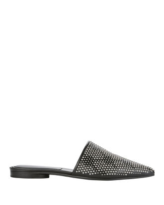 Darla Studded Slides, BLACK, hi-res