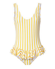 Tinos Polka Dot Striped One Piece Swimsuit, PATTERN, hi-res