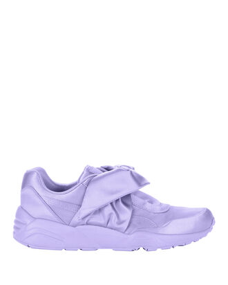 Lavender Bow Sneakers, PURPLE, hi-res
