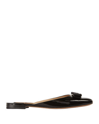 Vara Bow Slides, BLACK, hi-res