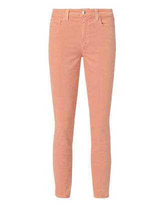 Margot Blush Velvet Pants, PINK, hi-res