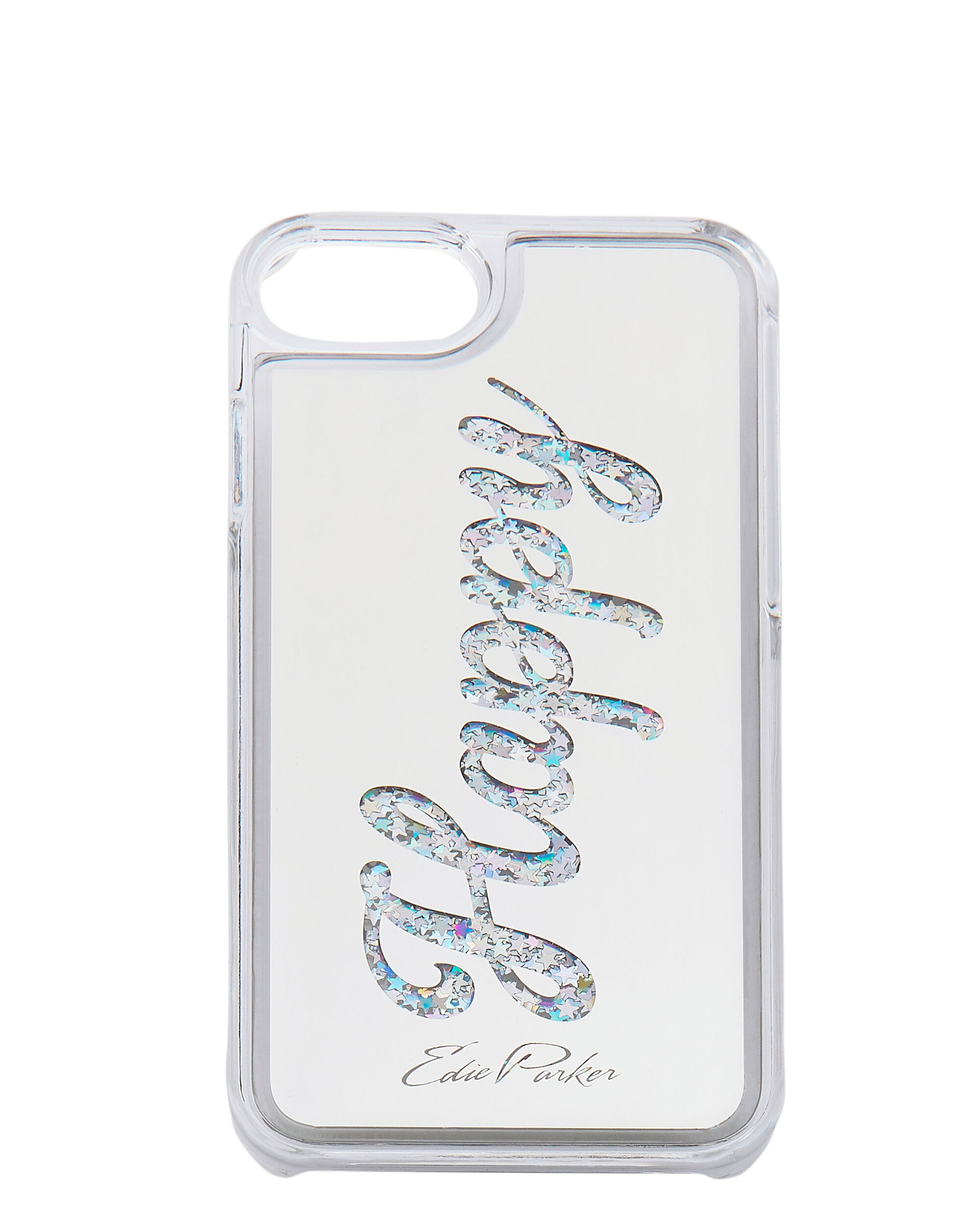 Silver Floating Happy iPhone 6 or 7 Case, METALLIC, hi-res