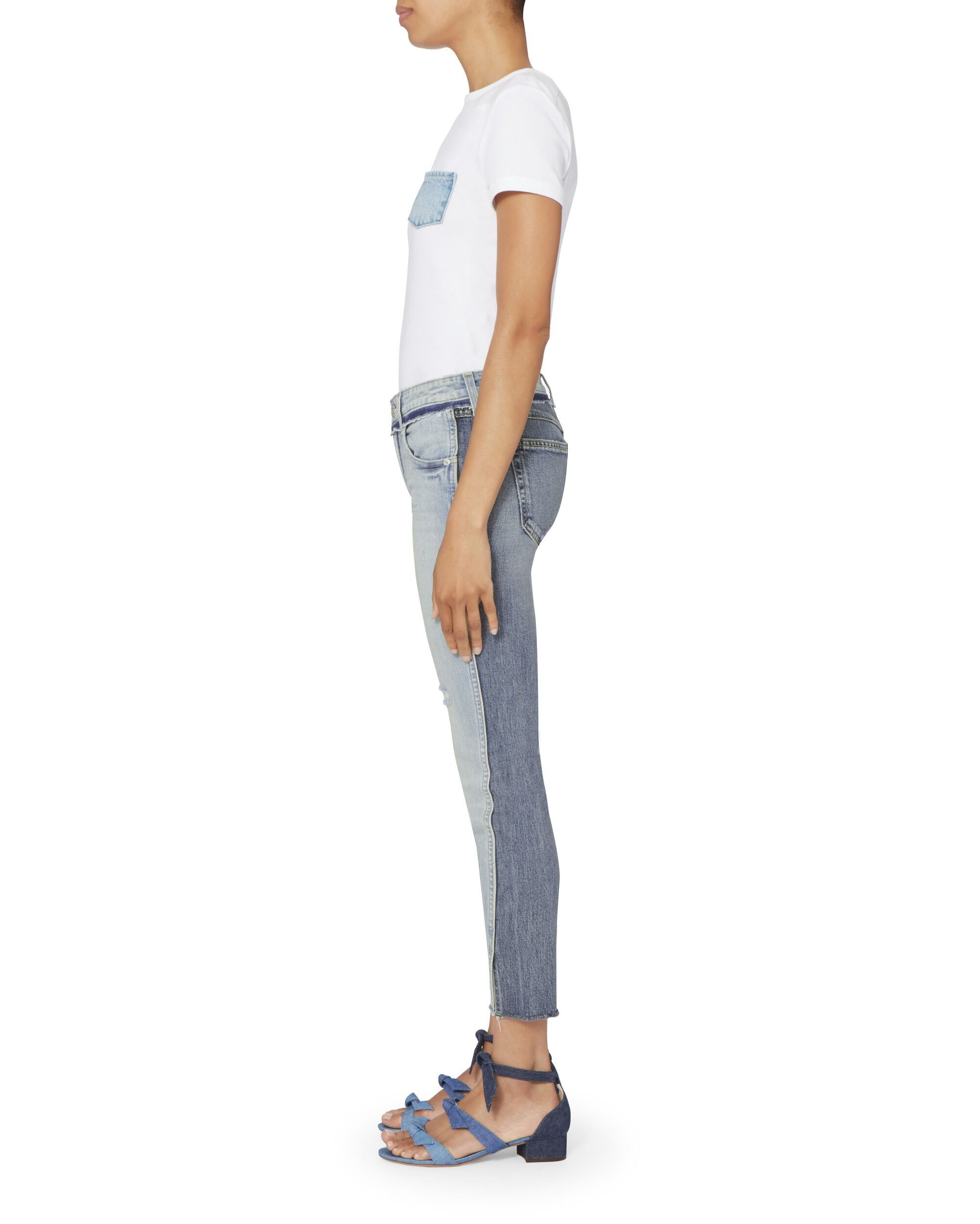 Twist Two-Tone Jeans, DENIM, hi-res