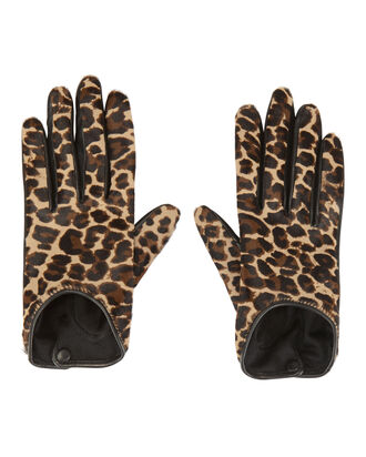 Leopard Gloves, PRINT, hi-res