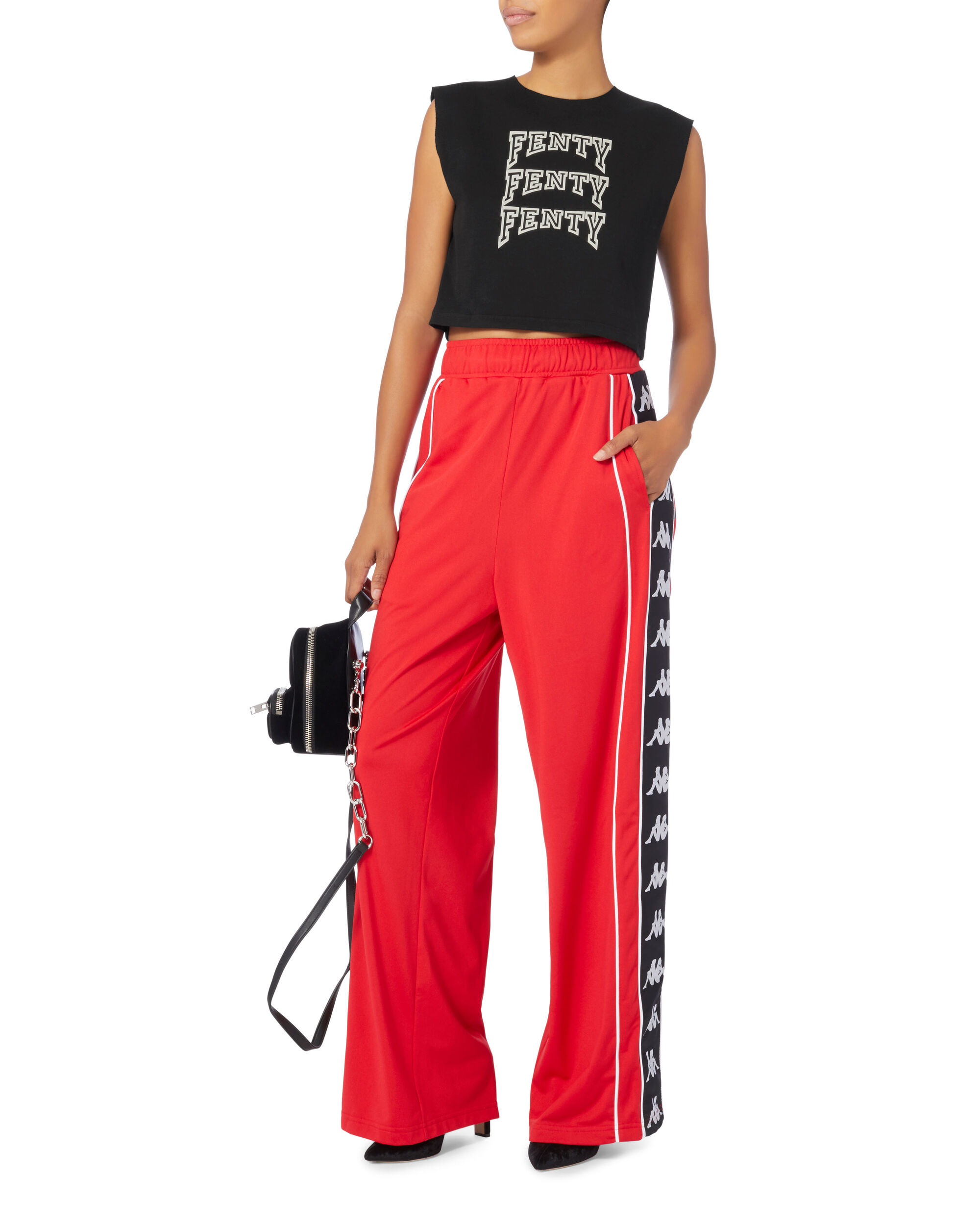 Fenty Crop Top, BLACK, hi-res