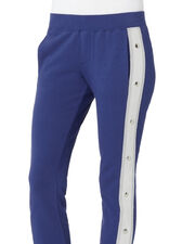 Colorblock Track Pants, BLUE, hi-res