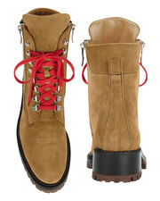 Camel Suede Hiker Boots, BROWN, hi-res