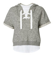 Lace-Up Hoodie And Tee, MULTI, hi-res