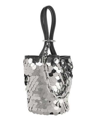 Roxy Sequin Mini Bucket Bag, BLACK, hi-res