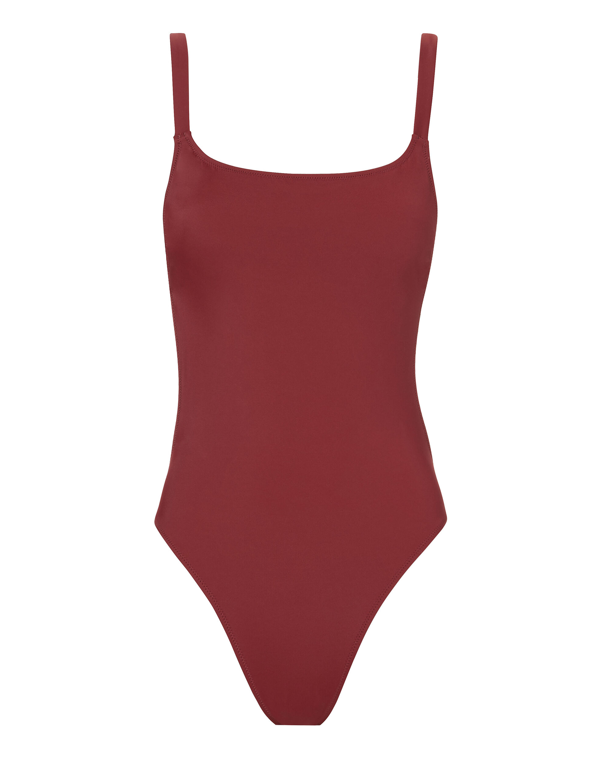 Toni One Piece Swimsuit, RED-DRK, hi-res