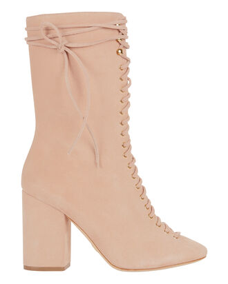 Lali Suede Boots, PINK, hi-res