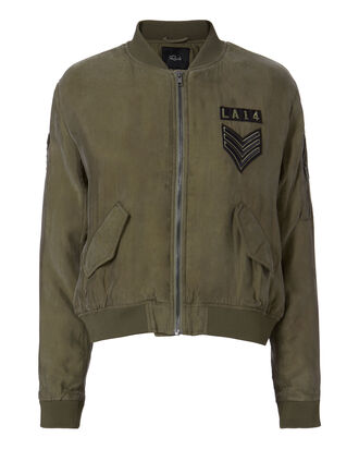 Ace Military Jacket, OLIVE/ARMY, hi-res