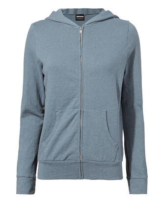 Blue Steel Zip-Up Hoodie, BLUE-MED, hi-res