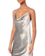 Silver Mini Dress, SILVER, hi-res