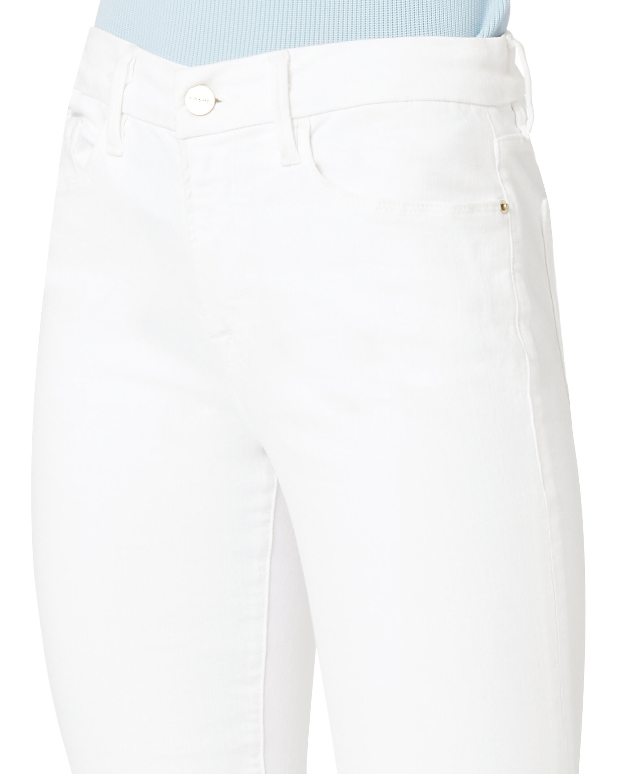 Le Crop Mini Boot Shredded Jeans, WHITE, hi-res