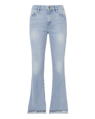 Le Crop Mini Step Hem Jeans, DENIM, hi-res