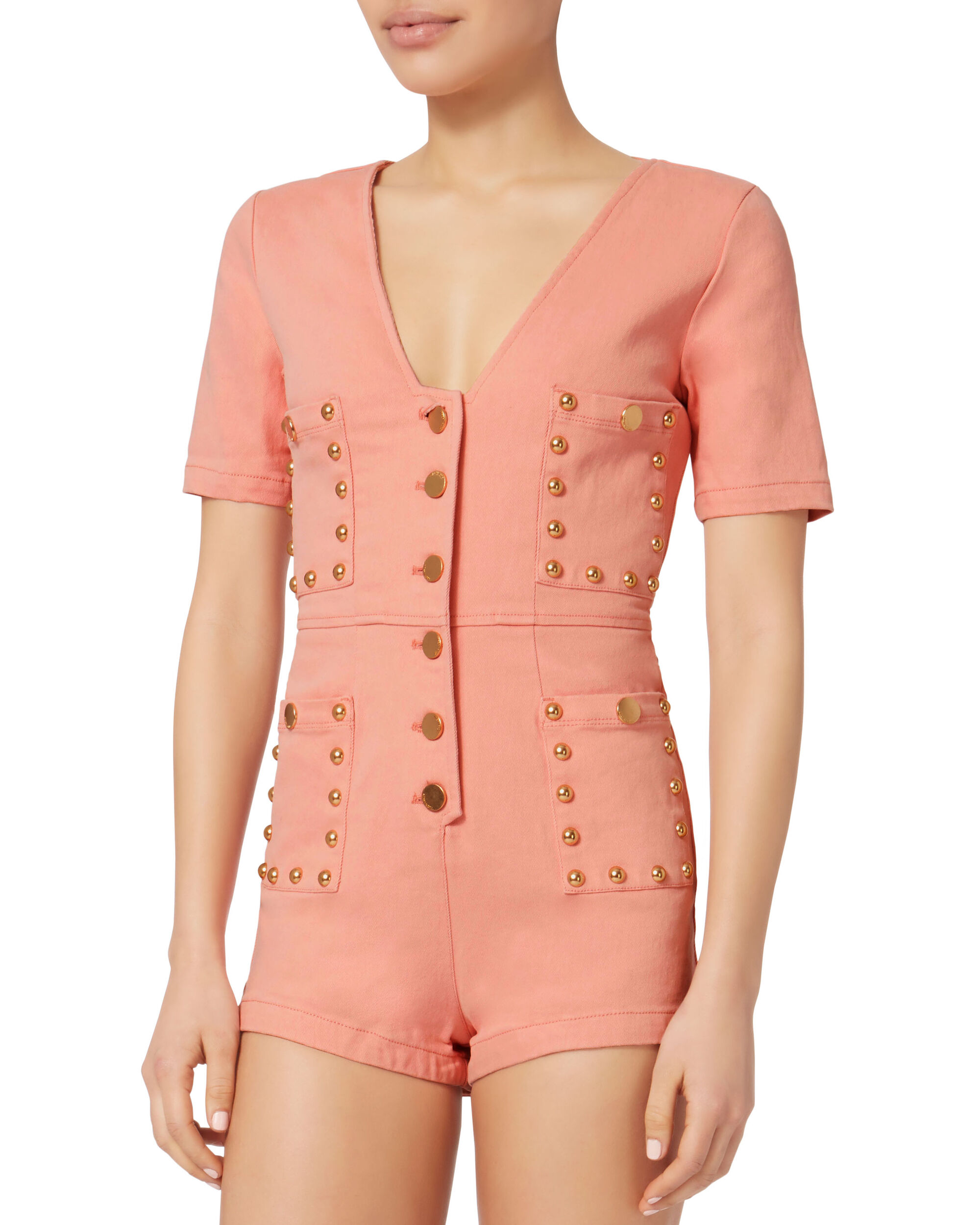 All Day All Night Playsuit, PINK, hi-res