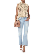 Maples Frill Blouse, , hi-res