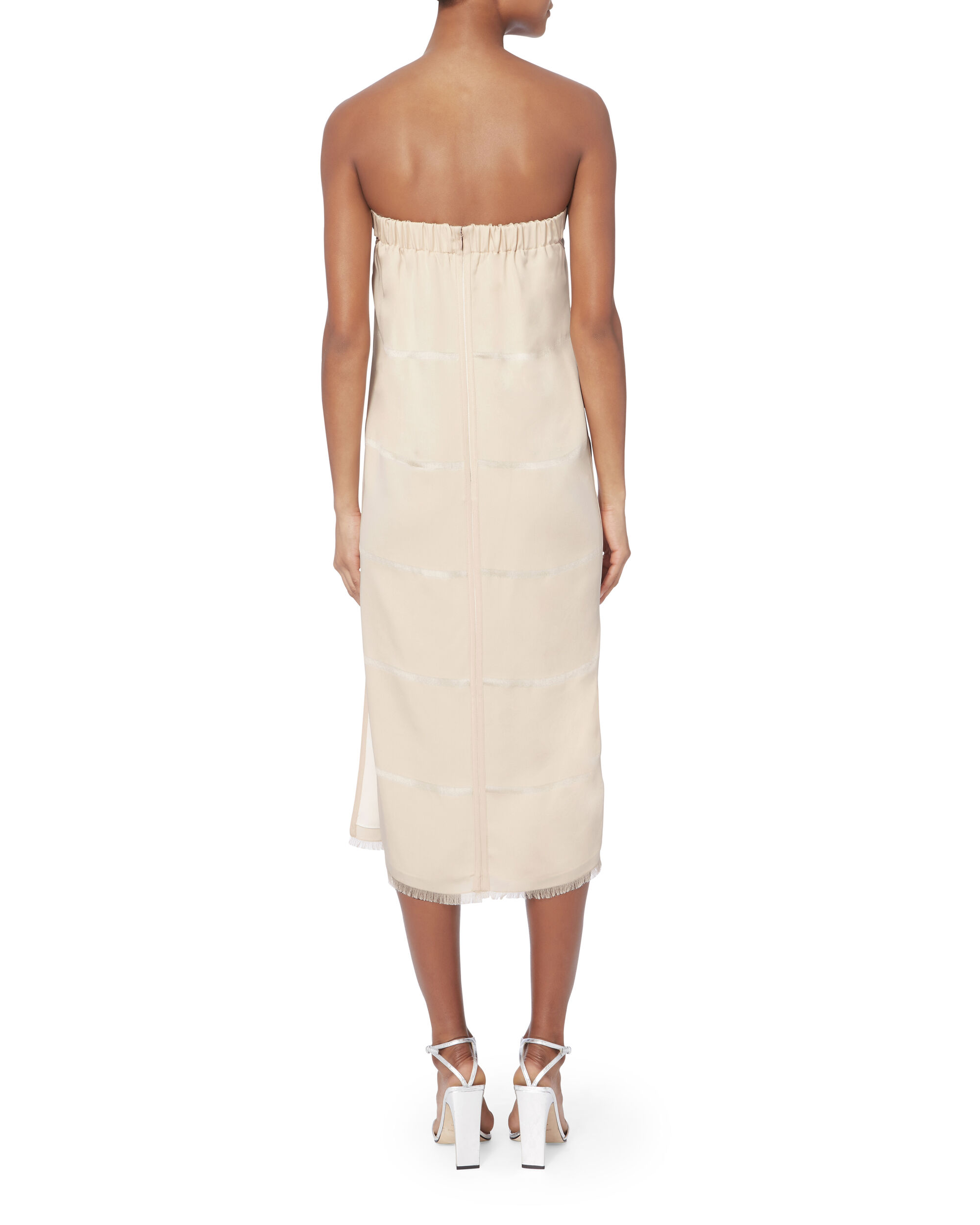 Clarence Strapless Dress, BLUSH/NUDE, hi-res