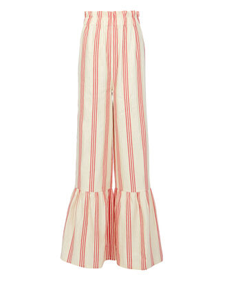 Cecile Striped Wide Leg Pants, PATTERN, hi-res