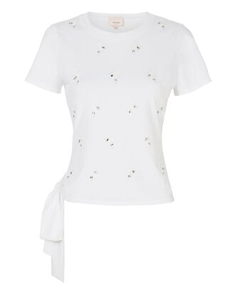 Scout Embellished Top, WHITE, hi-res