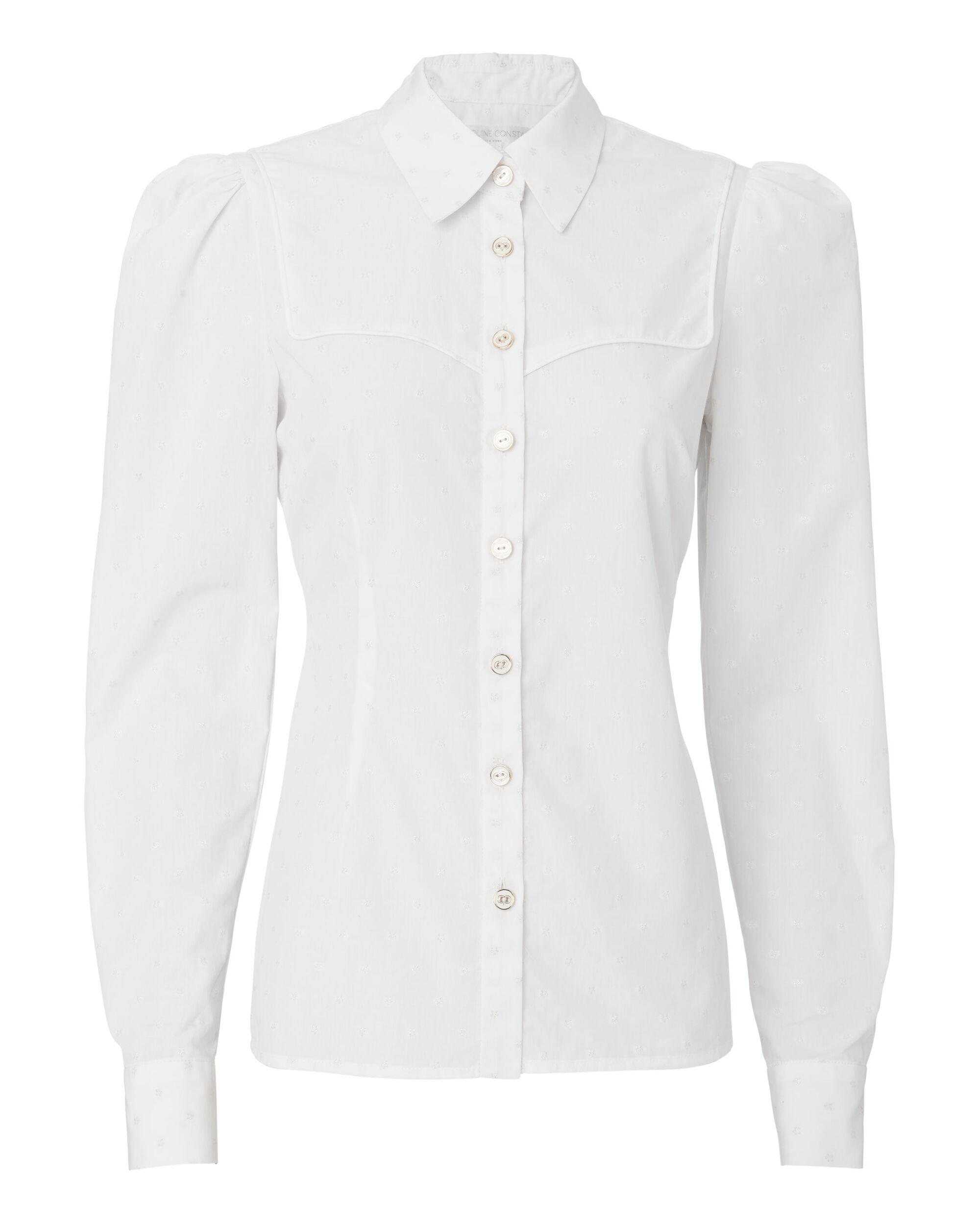 Clementine Shirt, WHITE, hi-res