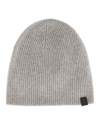 Ace Reversible Grey Beanie, GREY, hi-res