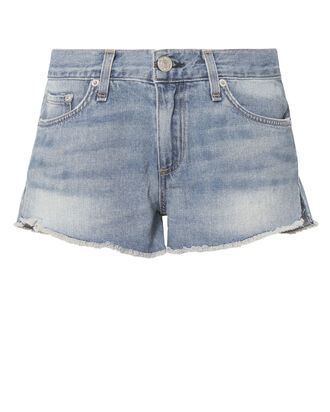 La Quinta Cut Off Shorts, DENIM, hi-res